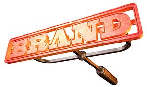 branding iron