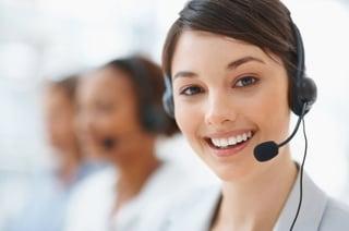 Engaging customer service rep