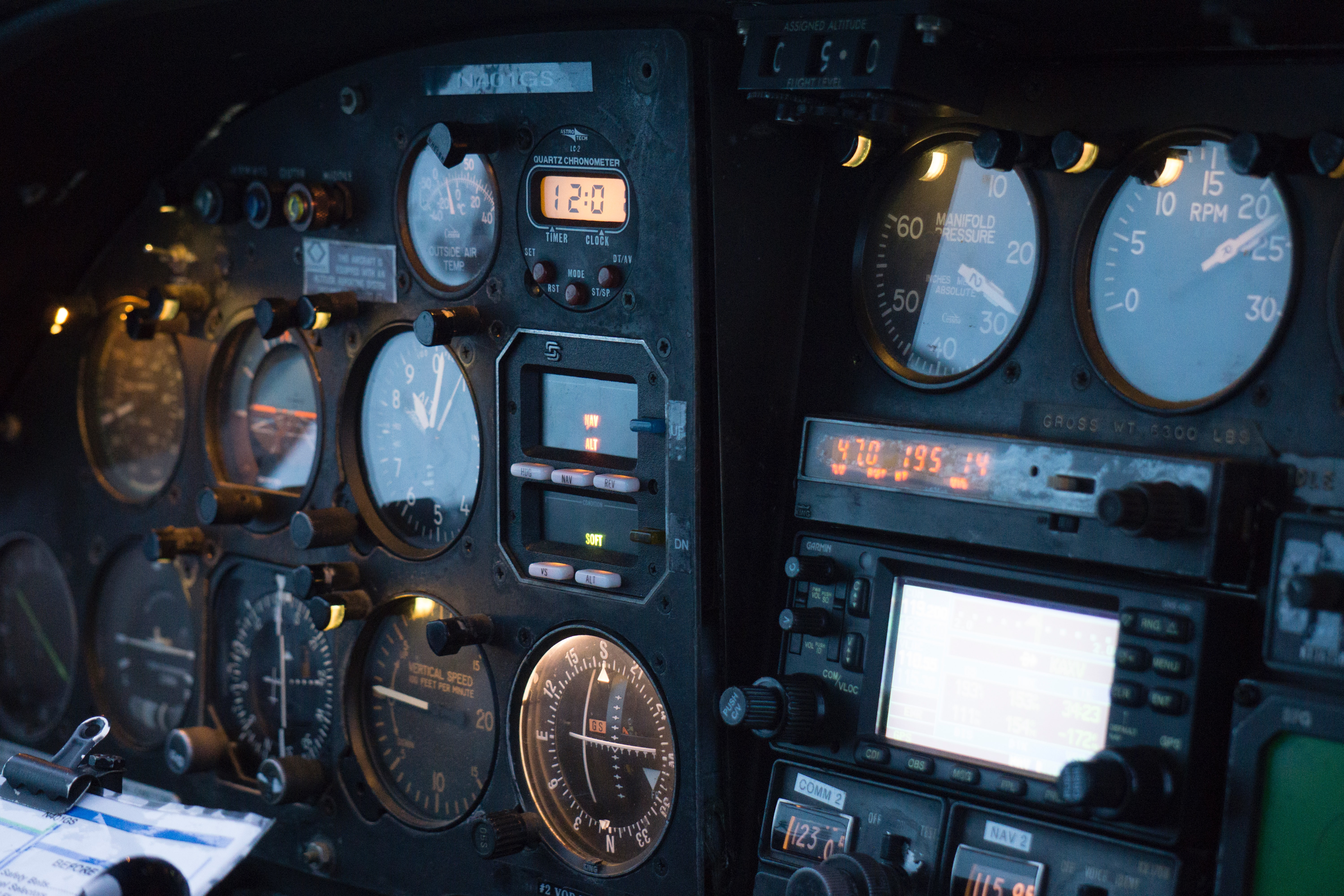 A metrics dashboard is like a plane's instruments