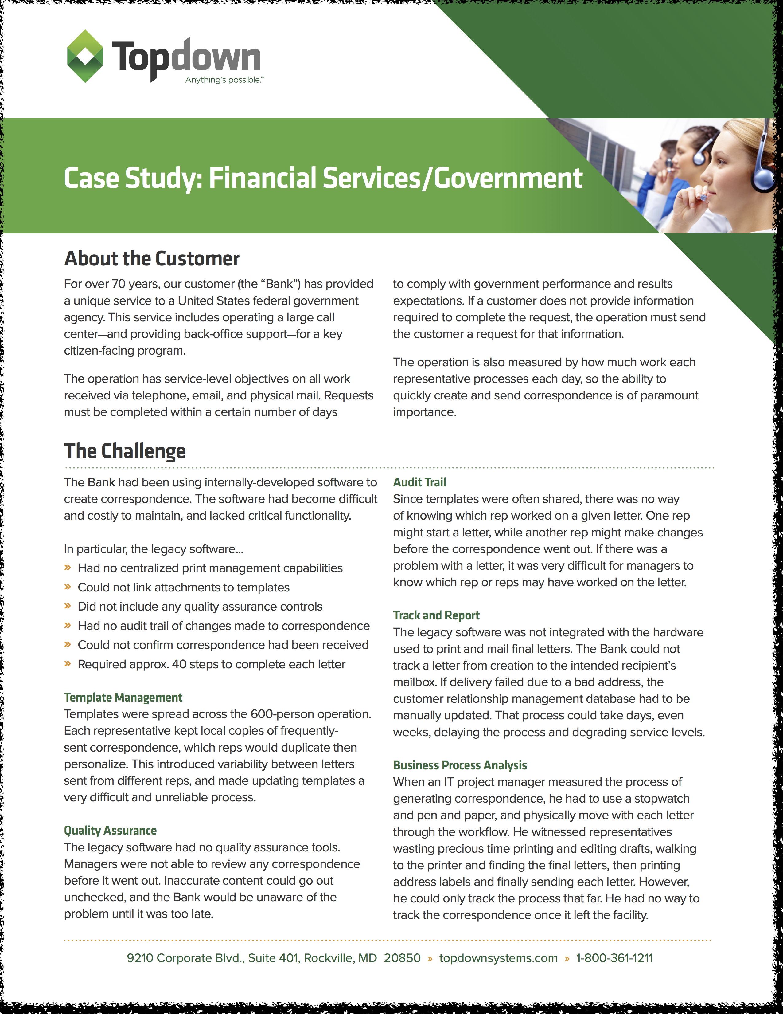 Federal Reserve Bank of Minneapolis case study