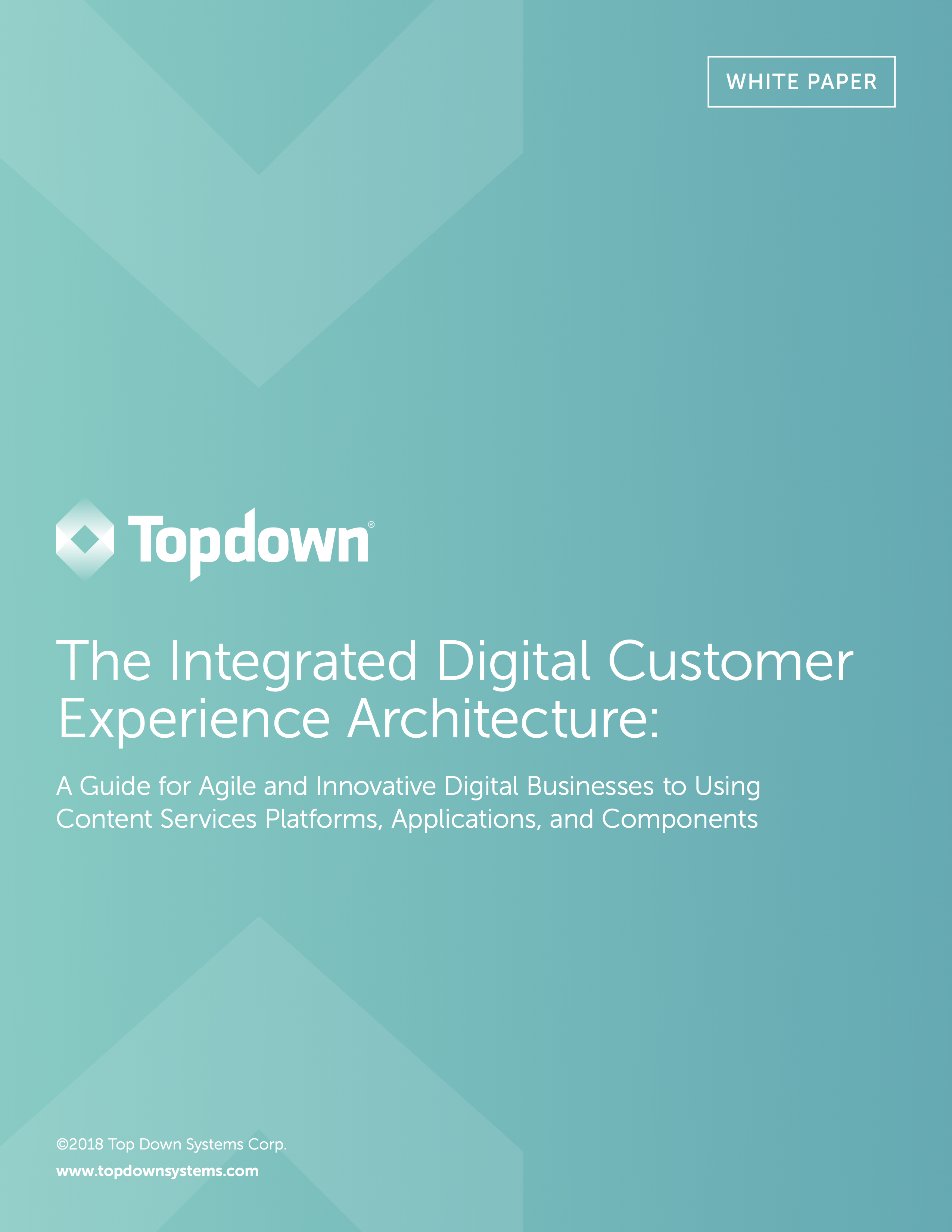 Topdown INTOUCH Content Services White Paper Cover