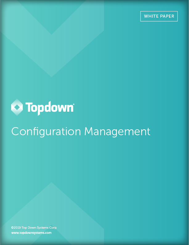 Topdown White Paper: Configuration Management