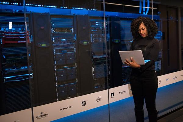 image of a cloud data center for hosting CCM