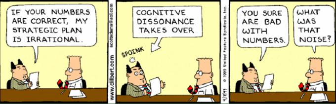 """""""Do as I say, not as I do,"""" creates cognitive dissonance"""