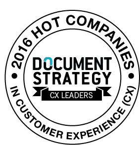 DOCUMENT STRATEGY HOT Company emblem