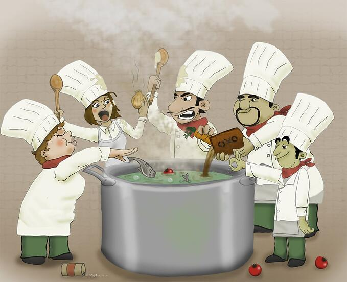 too many chefs spoils the customer experience